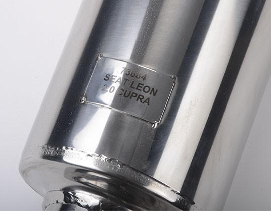 (Ø76mm) LEON SC 5F Cupra 2.0 TSI (265- 280 PS) 2013-